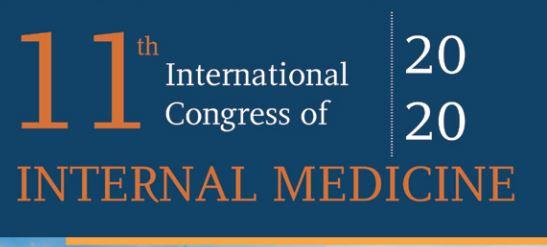 11th International Congress of Internal Medicine (July 5-7, 2020)